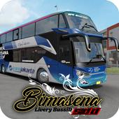 Livery Bussid Bimasena SDD icon