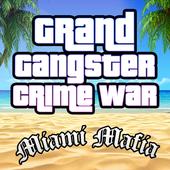 Grand Gangster Miami Mafia Crime War Simulator icon