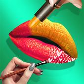 Lips Done! Satisfying 3D Lip Art ASMR Game icon