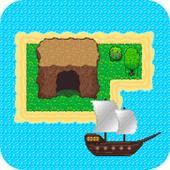 Survival RPG - Lost treasure adventure retro 2d icon