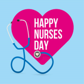 HAPPY NURSES DAY WISHES CARD icon