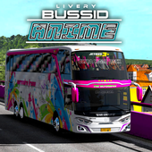 Livery Anime Bussid icon