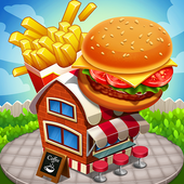 Cooking Games for Girls Food Fever & Restaurant icon