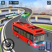 City Coach Bus Simulator 2020 - PvP Free Bus Games icon