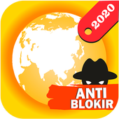 Azka Anti Block Browser - Unblock without VPN icon