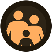 AllTracker. Family protection. Video monitoring icon