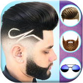 Man Hairstyles Photo Editor 2019 icon