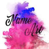Smoke Name Art icon