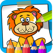 Paint and Learn Animals icon