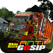 Mod Truck Canter Anti Gosip BUSSID icon