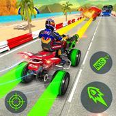 ATV Quad Bike Racing Simulator: Bike Shooting Game icon