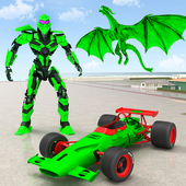 Dragon Robot Car Game – Robot transforming games icon