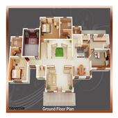 3d home architect icon