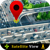 Live Satellite View GPS Map icon