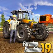 Farming Simulator 19: Real Tractor Farming Game icon