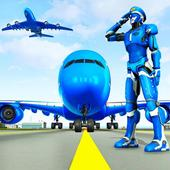 Robot Airplane Pilot Simulator - Airplane Games icon