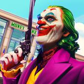 Clown Crime City Mafia: Bank Robbery Game icon