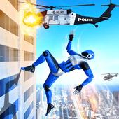 Grand Police Robot Speed Hero City Cop Robot Games icon