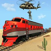 Mission Counter Attack Train Robbery Shooting Game icon