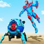 Futuristic Ball Robot Transform: Robot Games icon