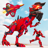 Raptor Robot Games: Drone Robot Grand Hero icon