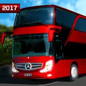 Real Euro City Bus Simulator Driving Heavy Traffic icon