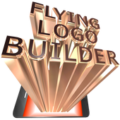 FLYING LOGO BUILDER - 3d Intro Movie Maker icon