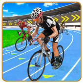 BMX Cycle Race - Mountain Bicycle Stunt Rider icon