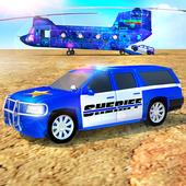 Offroad Police Transporter Truck 2019 icon