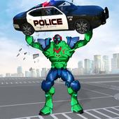 Incredible Monster Robot Hero Crime Shooting Game icon