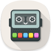 Voice changer with effects & voice modifier icon