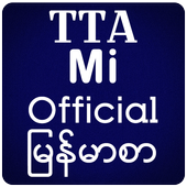 TTA Mi Official Myanmar Font icon