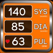 Blood Pressure App : BP Average Info Tracker Diary icon