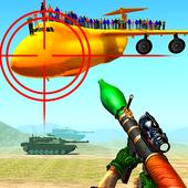 Jet War Fighter Airplane Shooting icon