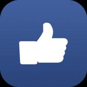 Likulator – likes counter for Facebook icon