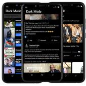 Dark Theme Mode for Facebook icon