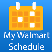 My Walmart Schedule icon