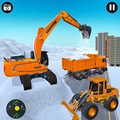 Real Heavy snow excavator simulator icon