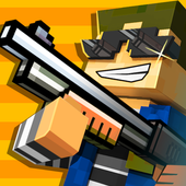 Cops N Robbers - 3D Pixel Craft Gun Shooting Games icon