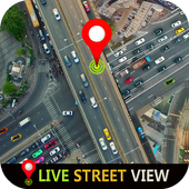 Street View Live, GPS Navigation & Earth Maps 2019 icon