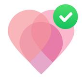 Period tracker for women. Ovulation calculator 💗 icon