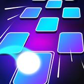 Tiles Dancing Ball Hop icon