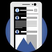Dark Mode Theme for Facebook icon