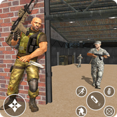 The Immortal squad 3D: Ultimate Gun shooting games icon