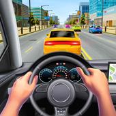Real POV Car Driving in Car Driver Simulator icon