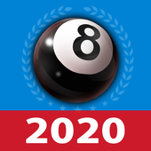 8 ball billiards Offline / Online pool free game icon