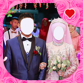 Islamic Wedding Couple Photo Editor icon