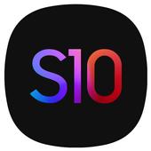Super S10 Launcher for Galaxy S8/S9/S10/J launcher icon