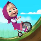 Masha and the Bear: Climb Racing and Car Games icon