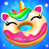 Unicorn Donut Maker: Dessert Cooking Mania icon